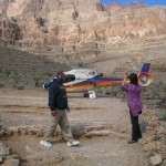 picture of grand canyon helicopter at bottom