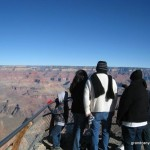 It's a family affair when it comes to South Rim views!