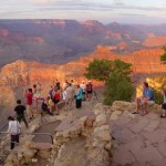 grand canyon with sunset 550
