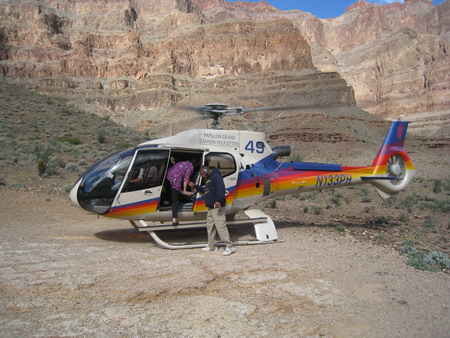 Grand Canyon Skywalk Helicopter Tours