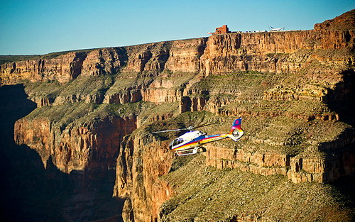 west rim or south rim helicopter