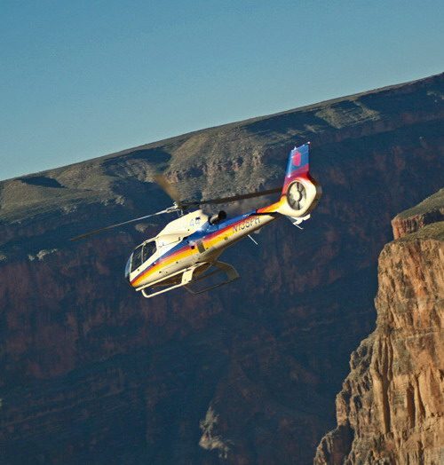 50Minute South Rim Helicopter Tour